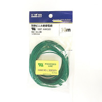 UL1007  AWG22  L=10m  緑