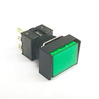 A16-JGM-1  非照光式押ボタンスイッチ  緑  モーメンタリ  16Φ