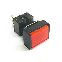 A16-JRM-1  非照光式押ボタンスイッチ  赤  モーメンタリ  16Φ