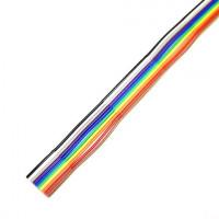 FLEX-S4 (10)-7/0.127 3030 2651  スダレ形オキフレックス  カラー  10芯