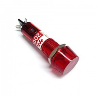 BN-5701-2-R  ネオンブラケット  AC200V  赤